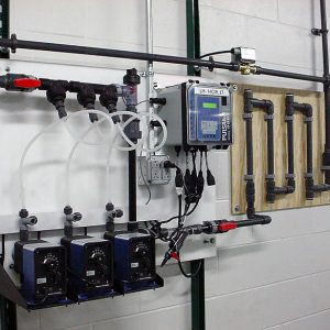 Automated control and feed system install
